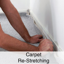 Carpet Re-Stretching